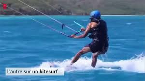 Obama Necker Island Barack Obama Se Mesure à Richard Branson Au Kitesurf Youtube