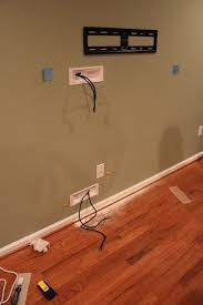 hiding flat screen tv cables with powerbridge http www amazon