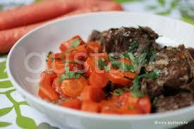 cuisiner boeuf boeuf carottes boeuf aux carottes mijoté en cocotte la recette