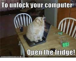 Fridge Meme - unlock vour computer open the fridge computers meme on me me