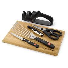 amazon com wusthof gourmet 6 piece kitchen essentials set 9066