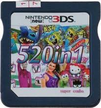 Backyard Baseball Ds 520 Ds Games Cartridge Multi Games Card For New 3ds 3ds 2ds