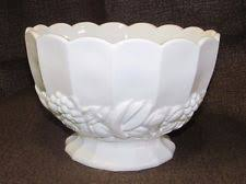 glass pedestal bowl ebay