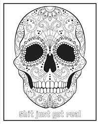 pin ppp hair dos sugar skulls coloring