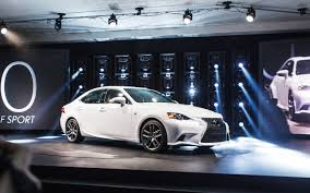 2015 red lexus is 250 first look 2014 lexus is250 and is350 automobile magazine