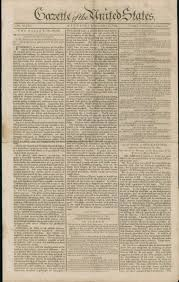 gazette of the united states digital collections for the classroom