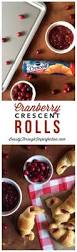 Thanksgiving Rolls Easy Cranberry Crescent Rolls Thanksgiving To Share And Or