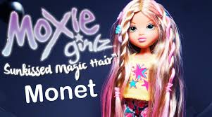 moxie girlz sunkissed magic hair monet review