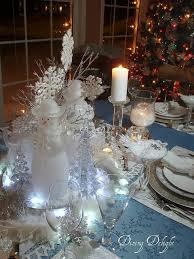christmas table best 25 snowflake centerpieces ideas on pinterest winter