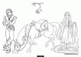 tangled and pascale coloring pages coloring home