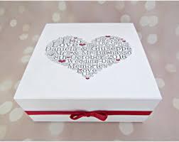 wedding keepsake box wedding keepsake box custom wedding gift memory box wedding