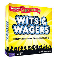 Games To Play At Your Desk by Amazon Com Wits U0026 Wagers Unknown Toys U0026 Games