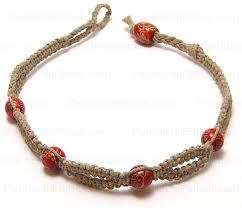 make bracelet simple images How to make hemp bracelets our hemp bracelets project only needs 4 jpg