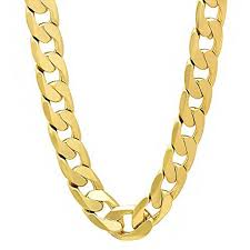 curb chain necklace mens images Solid heavy necklace yellow gold filled mens curb chain necklace jpg