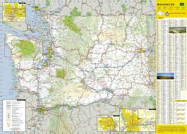 State Of Washington Map by Map Of Washington State National Geographic U2013 Mapscompany