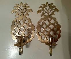 Pineapple Sconces Outdoor Trending Pineapples Collection On Ebay