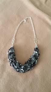 ebonie u2013 statement ribbon necklace u2013 estelline designs handmade