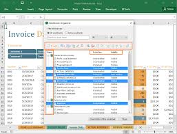 workbook organizer for excel xltools u2013 excel add ins you need daily