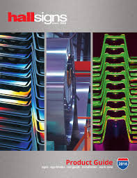 Hall Signs 2016 Product Catalog By Hall Signs Inc Issuu