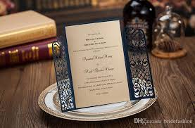 royal wedding cards cheap royal blue laser cut wedding invitations cards hollow