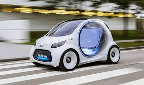 mercedes electric car mercedes electric car smart vision eq fortwo will drive itself
