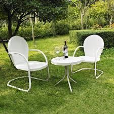 Steel Patio Chairs Steel Patio Set Shop Garden Treasures Yorkford 2 Piece Steel Patio
