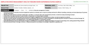 Fraud Analyst Resume Sample by Workforce Specialist Cover Letter
