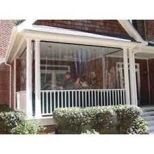 clear vinyl porch patio tarp 600g waterproof enclosure panels