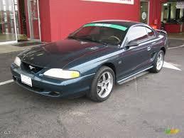 1995 Black Mustang 1996 Mustang Gt Convertible Deep Forest Green Mustang 1995