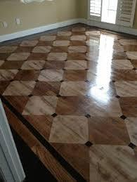 country floor harlequin flooring patterned distressed hardwood