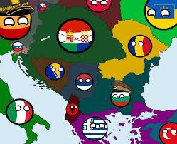 Balkans Map Rge Polandball Map Of The Balkans By Dragnor1008 On Deviantart