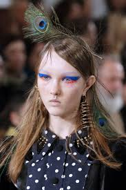 a gorgeous evening hair and makeup look courtesy of elie saab
