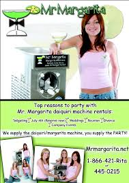 Margarita Machine Rental Houston Mr Margarita The Only Full Service Margarita Daiquiri Machine