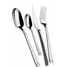stainless steel cutlery flatware set domino