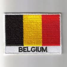 Belgian Flag Embroidered Patches Country Flag Belgium Patches Iron On Badges