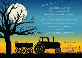 halloween invite poem hayride invitations