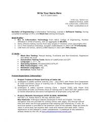 Sample Resume For Qtp Automation Testing by Asp Net Resume Sample Over 10000 Cv And Resume Samples With Free