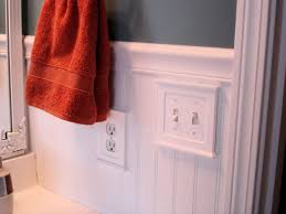 how to installeadboard wainscoting installing paneling inathroom