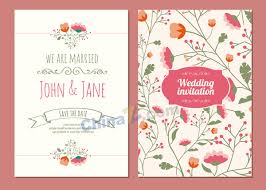 wedding invitation card free template wedding cards free vector