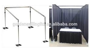pipe and drape kits circular pipe and drape wall decoration for classroom