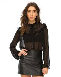 black sheer blouse 107 best blouses images on evening blouses fairies