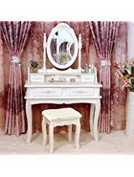 Makeup Table Vanities U0026 Vanity Benches Amazon Com