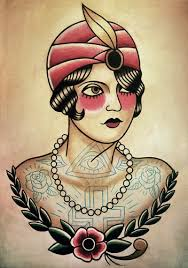 traditional gypsy tattoo flash photo 2 2017 real photo