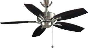 nickel ceiling fan with white blades 44 inch white ceiling fan inch ceiling fans wisp fresh white metal