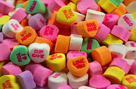 heart candies is your sweetheart a sports fan imagine giving them sports themed