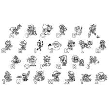 alphabet coloring pages toddler love