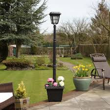 Landscaping Solar Lights by Solar Lamp Posts Solar Led Lamp Post Lights From Festive Lights