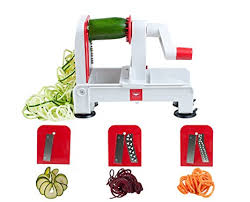 paderno cuisine spiral vegetable slicer amazon com paderno cuisine 3 blade folding vegetable slicer