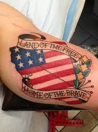 Mexico Flag Tattoo American Flag Tattoos Designs Ideas And Meaning Tattoos For You