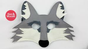 Wolf Mask Wolf Mask Or Coyote Mask For Pretend Play And Dress Up 100